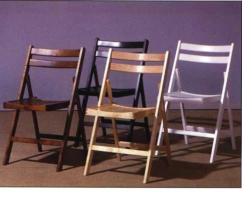 Bardzo dobra Krzesło składane drewniane YB58